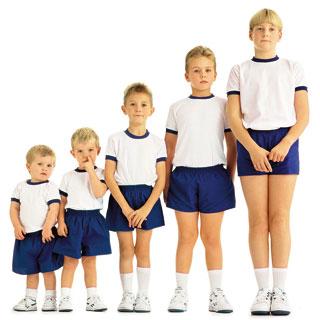 Рост ребенка. Физическое развитие детей