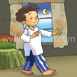 детский лунатизм ребенок часто просыпается ночью