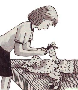 Как подстричь ногти новорожденному