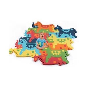 Напольные коврики-пазлы для детей: Развивающий 3d-пазл Animal Tessell Small - лошадка-качалка арт.T-002 (Тессел)