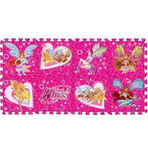 Напольные коврики-пазлы для детей: Коврик-пазл Winx, 8 сегментов