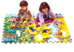 Детские напольные коврики-пазлы, Коврики-пазлы для детей