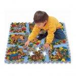 Напольные коврики-пазлы для детей: Коврик-пазл Lee chuyn Животные (81 элемент)