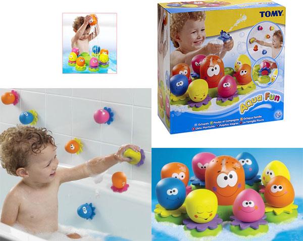 Что подарить ребенку на годик. Игрушки для купания