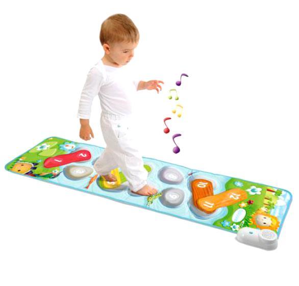 Что подарить ребенку на годик. музыкальный развивающий коврик
