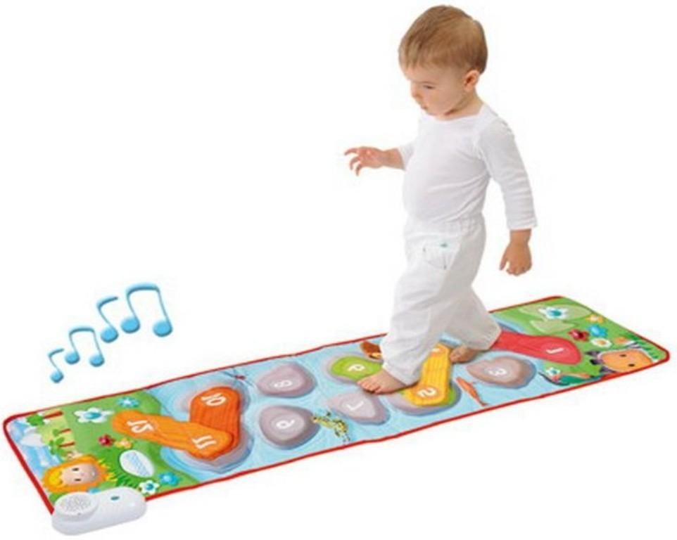 Музыкальные развивающие коврики