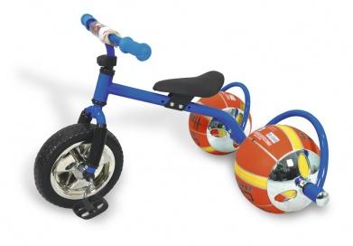 Баскетбайк синий - Велосипед с колесами в виде мячей