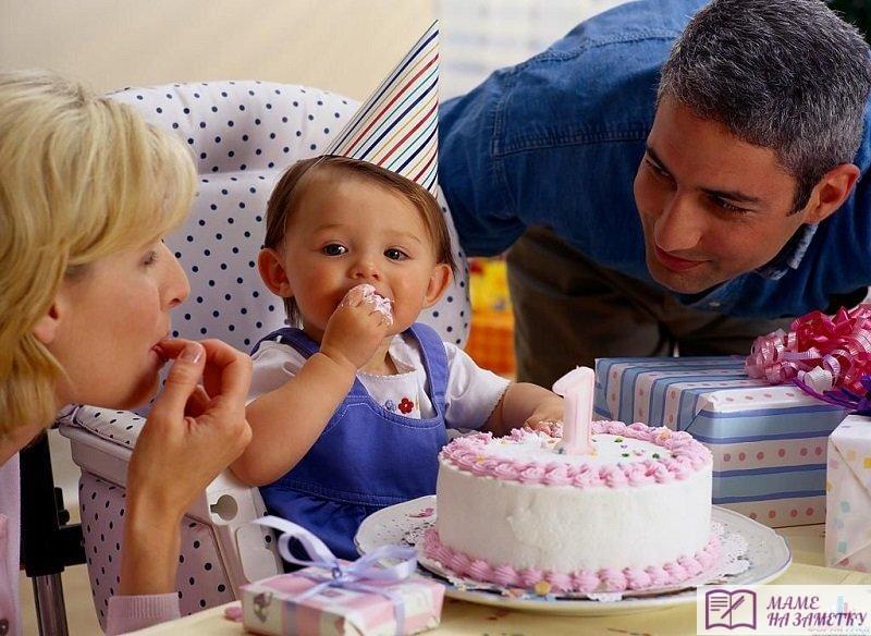 Что подарить девочке на 1 годик?